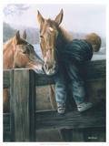 Grandpa's Farm Kunstdrucke von Kevin Daniel