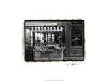 Café Charm, Paris I Poster by Laura Denardo