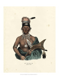 Saukie Chief Prints by  McKenney & Hall
