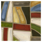 Stained Glass Abstraction III Posters by Karen Deans