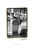 Venetian Doorway Giclee Print by Laura Denardo
