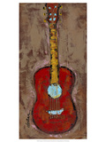 Six Strings VI Premium Giclee Print by Deann Hebert