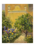 The Villas Garden Poster by Mary Jean Weber