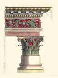 Printed Columns I Giclee Print by Vision Studio 