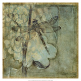 Non-Embellished Ethereal Wings III Giclee Print by Jennifer Goldberger