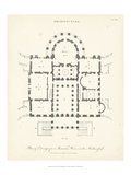 Plan for a Mansion Prints by J. Wilkes