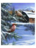A Winter Day Poster par Kevin Daniel