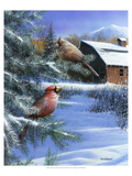 A Winter Day Premium Giclee Print by Kevin Daniel