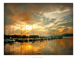 Marina Sunrise II Prints by Danny Head