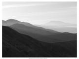 Mountains & Haze I Poster von Jim Christensen