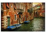 Venetian Canals III Premium Giclee Print by Danny Head