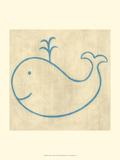 Best Friends - Whale Print by Chariklia Zarris