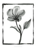 Non-embellished Sumi-e Floral I Premium Giclee Print by Ethan Harper