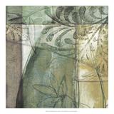 Non-Embld. Stained Glass Garden II Giclée-Premiumdruck von Jennifer Goldberger