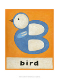 B is for Bird Print by Chariklia Zarris