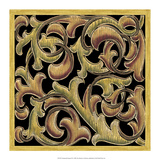 Ornamental Squares III Poster