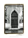 The Doors of Venice V Affiche par Laura Denardo