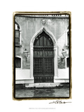 The Doors of Venice V Print by Laura Denardo