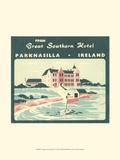 Vintage Travel Label V Prints