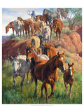 Ladies First Giclée-Premiumdruck von Jack Sorenson