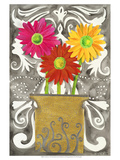 3 Tin Flowers Prints by Kaeli Smith