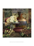 Cheese and Grapes II Lámina giclée premium por Janet Stever