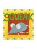 Squeak Lámina giclée prémium por Megan Meagher