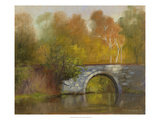 The Bridge Giclee Print by Mary Jean Weber