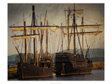 Tall Ships Print by Danny Head