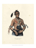 A Winnebago Chief Giclee Print by McKenny & Hall