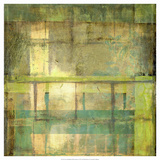 Non-Embellish Guilded Turquoise I Giclee Print by Jennifer Goldberger