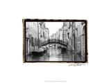 Waterways of Venice XVII Affiche par Laura Denardo