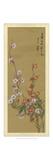 Oriental Floral Scroll VI Prints
