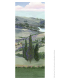 Lavender Tuscany IV Print by Victor Valla