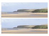 2-Up Sunlit Sands II Prints by Noah Bay
