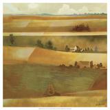 Field Scape II Print by Victor Valla