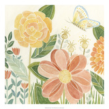 Papillon Garden I Prints by Megan Meagher
