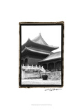 Palace Rooftops, Beijing Prints by Laura Denardo