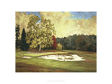 After the Rain at Merion Giclee Print by Michael G. Miller