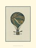Vintage Ballooning IV Prints