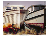 Two Boats Premium Giclee Print by D.k. Gifford