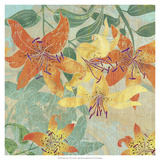 Tiger Lilies I Premium Giclee Print by R. Collier-Morales
