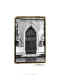The Doors of Venice V Print by Laura Denardo