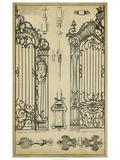 Vintage Gate I Reprodukcje