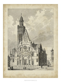 Eglise de St. Etienne-Du-Mont Art by A. Pugin