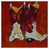 Kickin' it II Posters af Deann Hebert