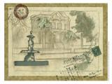 Small Postcard from the Villa II Art by Jennifer Goldberger