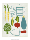 Sunday Garden Plakater af Chariklia Zarris