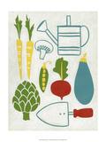 Sunday Garden Prints by Chariklia Zarris