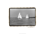 Ocean Breeze II Print by Laura Denardo